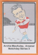 Arsenal Archie MacAuley Scotland